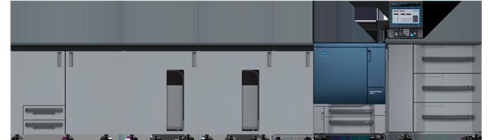 Máquina de la línea de producción a color en Tubookdigital