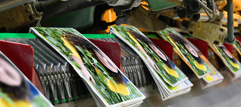Tren de grapado de revistas Müller Martini en Tubookdigital